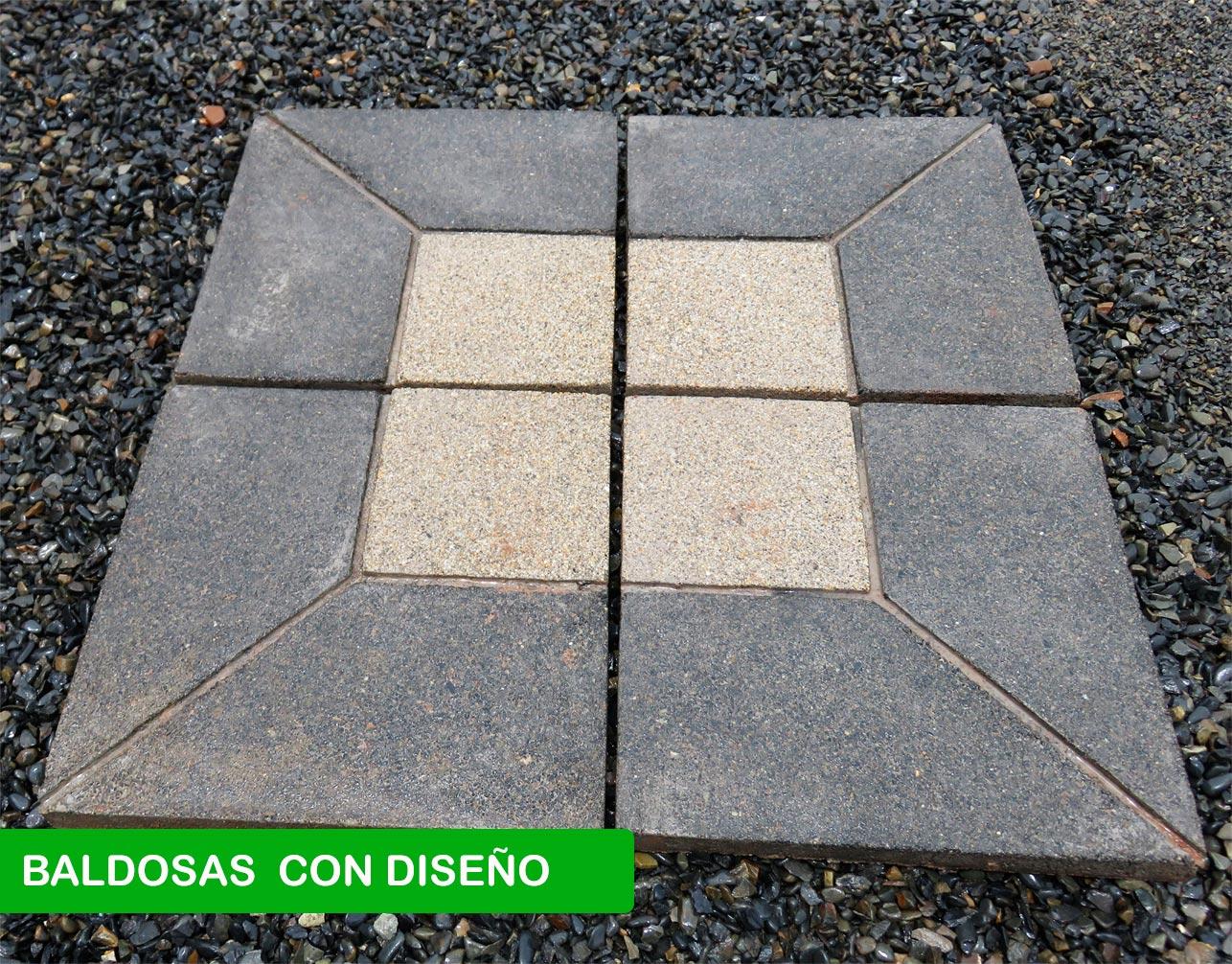 BALDOSAS CON DISEÑO – PREMOLDEADOS CONBELT